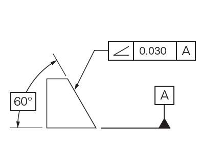 Angularity Drawing Callout