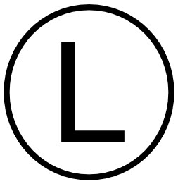 Least Material Condition Symbol