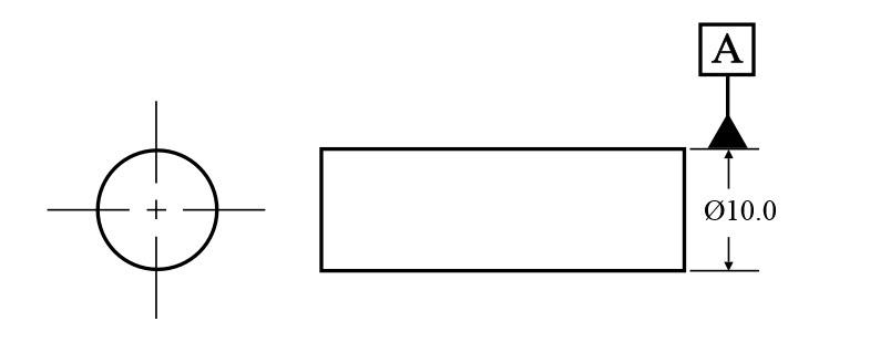 Datum on an Axis