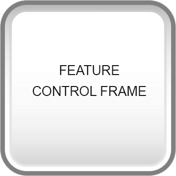 GD&T symbols feature control frame